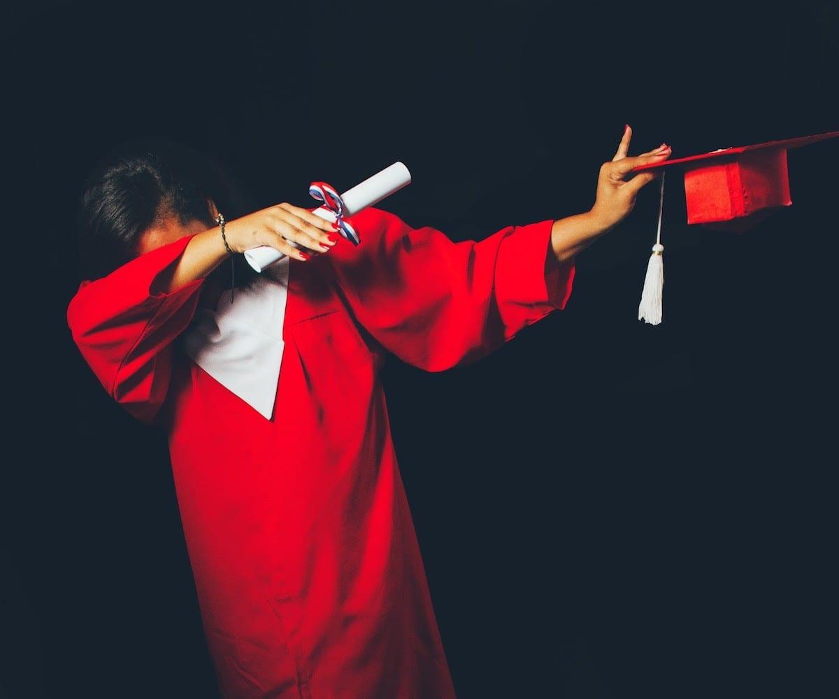 Image of a proud graduate