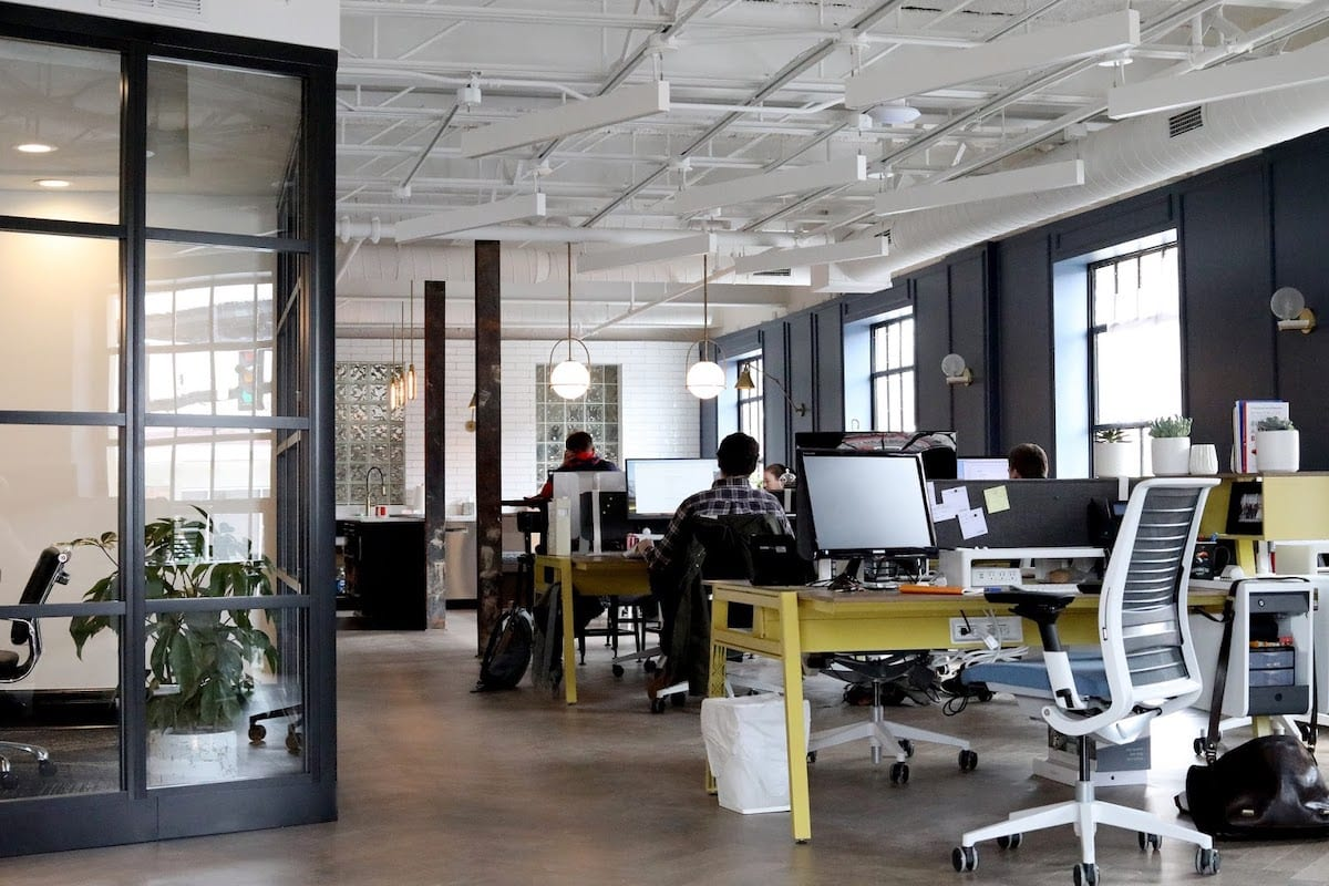 Image of a tech office