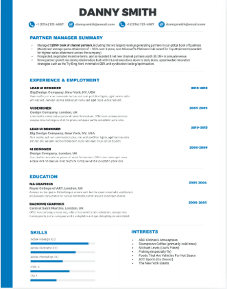 Technical Resume Template from careerkarma.com