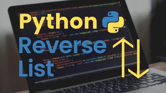 Python reverse list cover image