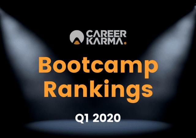Career Karma Bootcamp Rankings Q1 2020