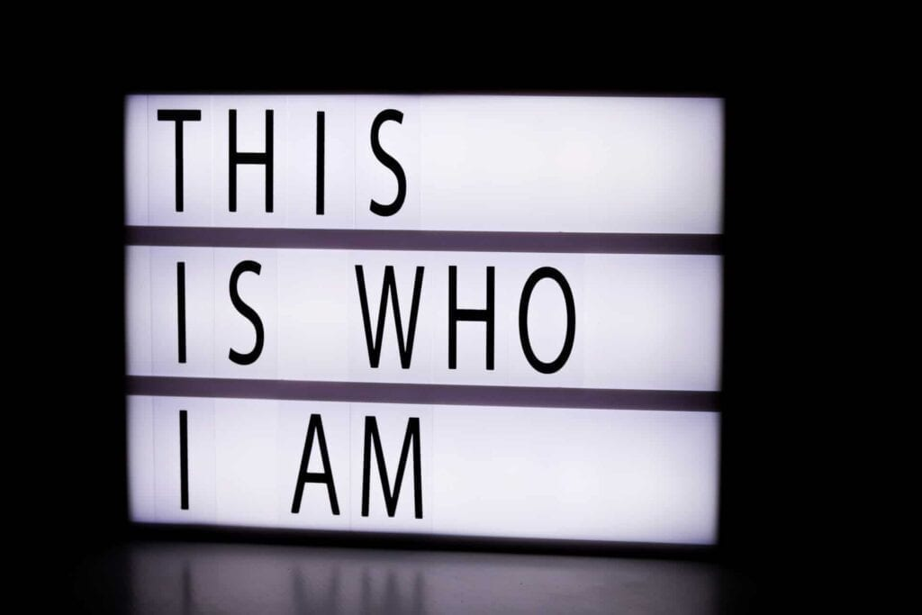 """""""This is who I am"""""""