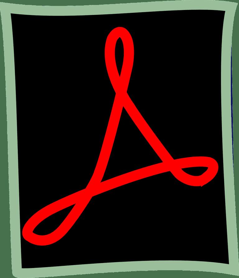 The Adobe Acrobat logo